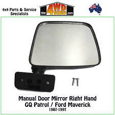 DOOR MIRROR RH fit NISSAN PATROL GQ Y60 RIGHT HAND SIDE 1987-1997 FORD MAVERICK