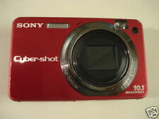 LikeNew SONY CyberShot DSC-W170 10MP Digital Camera red