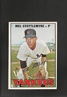 2441* 1967 Topps # 225 Mel Stottlemyre NM