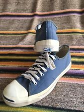 VTG Navy Blue Jack Purcell Converse Made In USA Size 11 11.5 See Description
