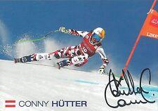 AUTOGRAFO Conny Cornelia assidua Austria sci alpine, ORIGINALE SIGN 2