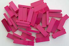 50 Lego Bausteine Säule Wand 1x2x5 magenta NEU 2454