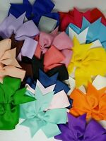 20 pcs Baby Girls Hair Bows For Kids Hair Bands Alligator Hair Clips US-ship