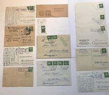 106 Belege ab Deutsche Post bis 90er Jahre - Ausstellungssammlung - s.Bilder