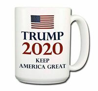 DONALD TRUMP Keep America Great 2020 EXTRA LARGE COFFEE MUG CUP