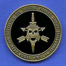 US Army Special Forces ODA 5431 Green Berets 5th SFG Airborne SF Challenge Coin