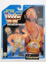 Hasbro Official WWF WWE Bush Workers Butch 1994 figure Blue card Vintage NEW