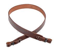 New Genuine Split Leather Shotgun Rifle Sling Strap Strip - Brown color