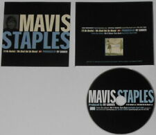 Mavis Staples - I'll Be Rested/We Shall Not Be Moved  U.S. promo cd