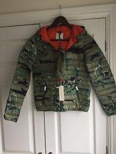 Boys Diesel Camouflage Lightweight Puffer Coat Age 11-12
