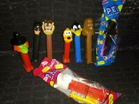 vintage pez dispensers lot