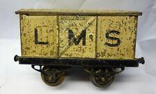1920s Hornby 0 Gauge O, LMS Refrigerated Van for Renovation.