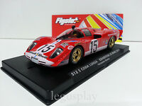 Slot SCX Scalextric Flyslot 020101 512S Coda Lunga Exhibition Le Mans 2014 F.A.