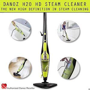 GENUINE DANOZ✓ - H2O HD Steam Mop Cleaner HD CLEANING✓ - 12 MONTH WARRANTY ✓