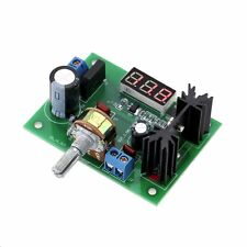 LM317 Adjustable Voltage Regulator Step down Power Supply Module + LED Voltmeter