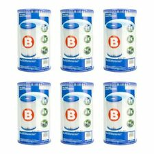 Intex Pool Easy Set Type B Replacement Filter Pump Cartridge (1 Pack) | 29005E