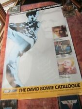 David Bowie 1990 Catalogue: The Sound + Vision Series Promo Poster Rykodisc