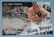 Dan Henderson 2008 Donruss Americana II Ring Kings Card #RK Promo UFC Pride DH