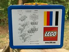 LEGO 5006017 Tin Lunchbox With Original Brick Patent Sketch Exclusive Promo