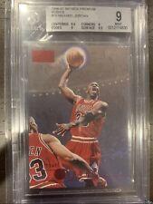 1996-97 Skybox Premium Rubies Michael Jordan #16 PSA BGS 9 w/ 9.5 Subs