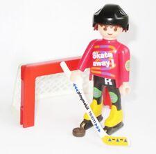Playmobil hockey jugador personaje de 4523 jugadores portón PUK inline skater