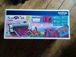 Brother Scan 'N' Cut CM600 Machine, Boxed