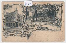 2394, Wanne 2 Bild Flora in Wanne tolle Karte gelaufen 1903 !