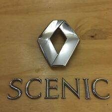 Renault Scenic Trasero Insignia logo emblema de 8200145816 (A7)