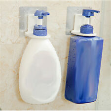 1x cuarto de baño Wall Magic Sticky Shampoo Jab Bottle Organizer Hook Holder