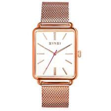 Vintage rosé retro horloge witte wijzerplaat ZIW908M Zinzi