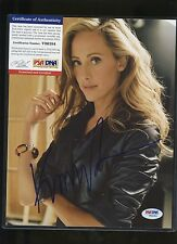 KIM RAVER Signed 8x10 Photo PSA/DNA COA AUTO Autograph
