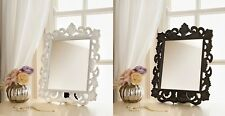 Ornate Dressing Table Mirror Square Large Glass Vintage Standing Hanging Make-up