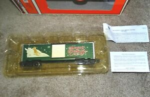 🚂 Lionel 6-19998 Christmas Box Car 2001
