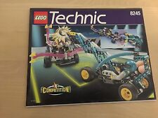 LEGO Technic 8245 Competition Cyber Slam Robots Revenge Instruction Manual ONLY