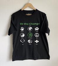 VEGAN Animal Rights Plant Based Recycled Plastic T Shirt - Men's Medium