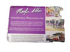 Marilyn Allis SAA Introductory Watercolour Set 8 artist watercolours 14ml tubes