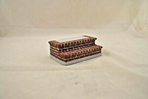 BRICK STEPS  - YM0230 plastic resin dollhouse miniature 1/12 scale