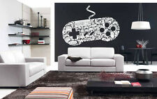 Wall Vinyl Sticker Room Decal Mural Design Video Game Controller X Box bo2030