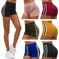 Kurzhose Shorts Sporthose Freizeit Kurze Basic Slim Fit JS/1023/B OZONEE Damen