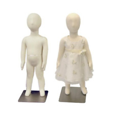 Child Flexible Full Body 1 Year Old Mannequin Dress Form with Removable Head