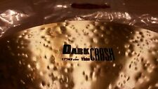 "Zildjian 17"" K Dark Thin crash"