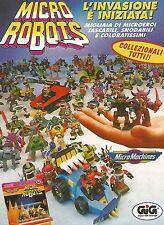 X0324 Micro Robots - MicroMachines - Gig - Pubblicità del 1993 - Vintage advert