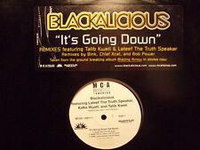 "BLACKALICIOUS, TALIB KWELI, LATEEF - IT'S GOING DOWN (12"")  2002!!!  RARE!!!"