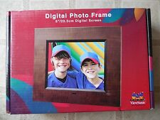 """ViewSonic DPX802 8"""" Digital Picture Frame"""