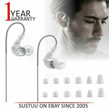MEE Audio M6G2 In-Ear Sports Headphone│Noise-Isolating│(2018 VERSION)│Clear│NEW