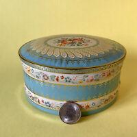 ⭐️Vintage Floral Baret Ware ENGLAND Tin #213 Container Floral Tea Cookie Tin