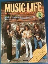 Queen cover 1975 sep. MUSIC LIFE Magazine Freddie Mercury