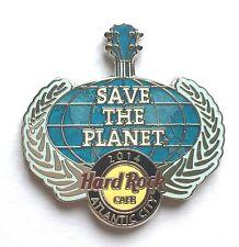 Hard Rock Cafe Pin Badge Atlantic City 2014 Save The Planet