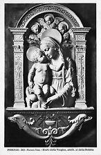 Br10977 Museo Naz Busto della Vergine Firenze postcard italy
