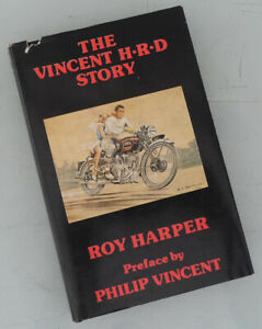 THE VINCENT HRD MOTORCYCLE HISTORY BOOK COMET RAPIDE SHADOW TRIUMPH BSA INDIAN